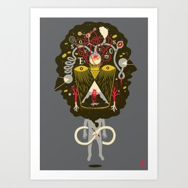 There are things you should know... Art Print
