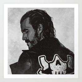 Adam Cole Art Print