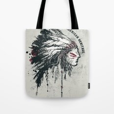American Heritage (White) Tote Bag