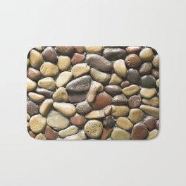 Wall pebble pattern Bath Mat