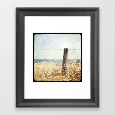 Houat #8 Framed Art Print