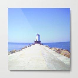 Scenic Lighthouse Metal Print