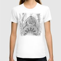gothic T-shirts featuring gothic by Tereza Del Pilar