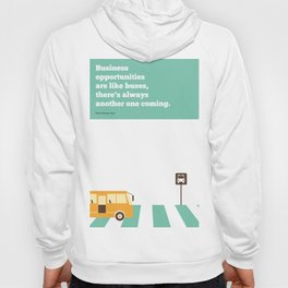 Lab No. 4 - Business  Richard Branson Virgin Inspirational Corporate Startup Quotes Poster Hoody