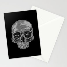 Behind the skull Stationery Cards