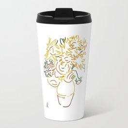 Minimal Gogh Travel Mug