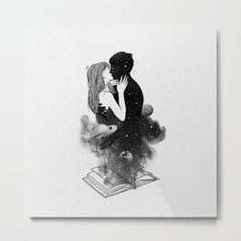The book of dreams. Metal Print