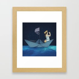 Night Adventure  Framed Art Print