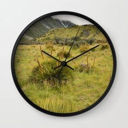 Grassy Landscape Wall Clock