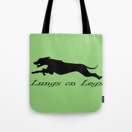 Lungs on Legs Tote Bag