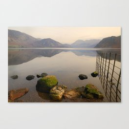 ennerdale water autumn sunset Canvas Print