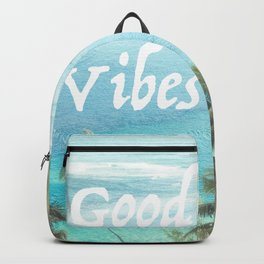 Good Vibes Beachy Palms Backpack