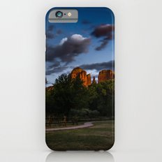 Travel Landscape Tapestries - Cathedral Rock in Sedona Arizona Sunset Glow Slim Case iPhone 6s