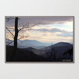 Reems Creek * WNC * Blue Ridge Mountains Canvas Print