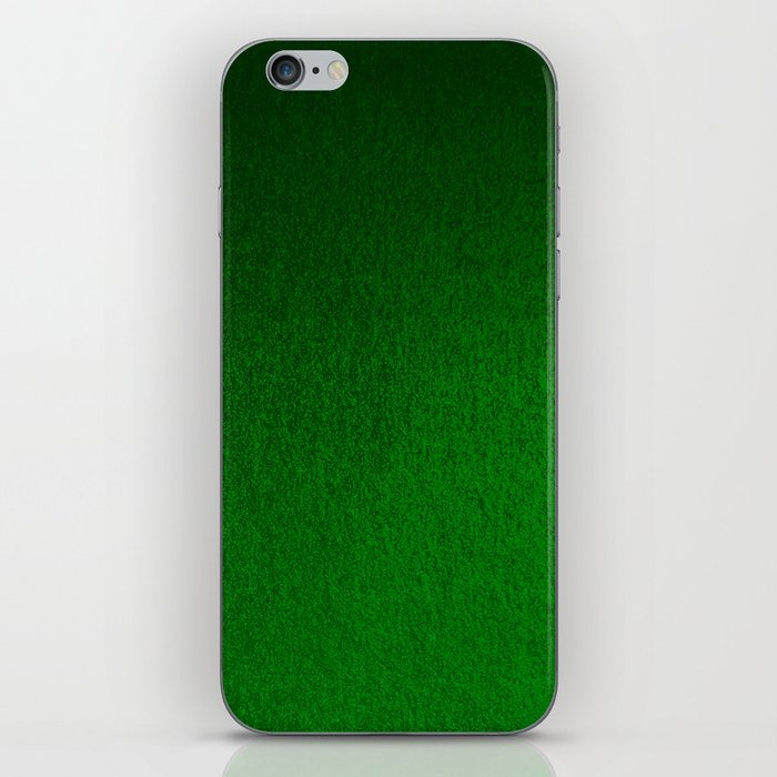 Emerald Green Ombre Design iPhone Skin