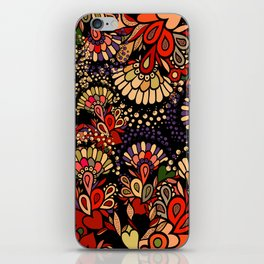 Floral fantasy. iPhone Skin