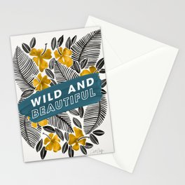 Wild & Beautiful – Yellow Palette Stationery Cards