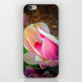 Pink Tulip on Tree iPhone Skin