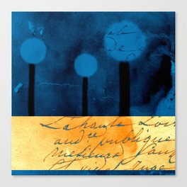 The Three Trees - a48b Canvas Print