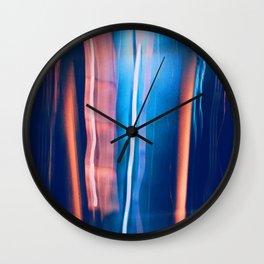 Falling 2 Wall Clock