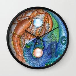 The Lobster and the Dragon, Chaos and Order Yin Yang Wall Clock