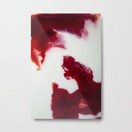 Blood and Milk Metal Print