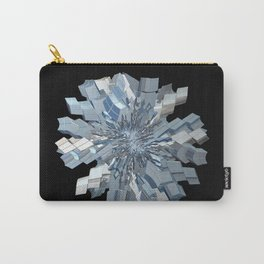 Fractal Snowflake Carry-All Pouch