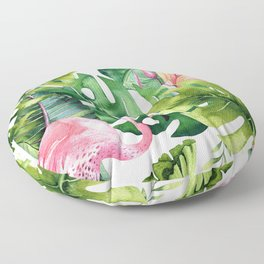 Tropical & flamingo collection Floor Pillow
