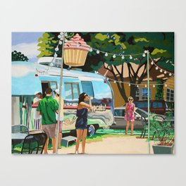 Hey Cupcake! Canvas Print