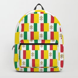 Mix of flag:Vatican and Italy Backpack
