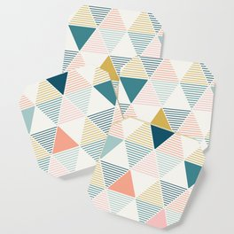 Modern Geometric Coaster
