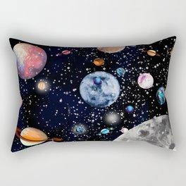 Cosmic world Rectangular Pillow