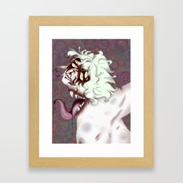 When It Takes Control Framed Art Print