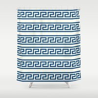 greek Shower Curtains featuring Greek II by Mr and Mrs Quirynen