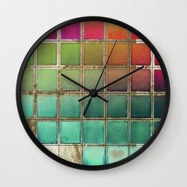 Color Chart I Wall Clock