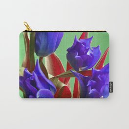 MAGIC PINK TULIPS Carry-All Pouch
