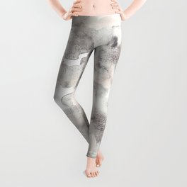 Too Good - Abstract Watercolor Art Leggings