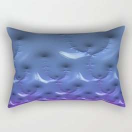 Invisible Conflict of Despair Fractal - Abstract Art Rectangular Pillow