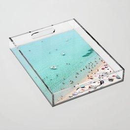 Beach Day Acrylic Tray