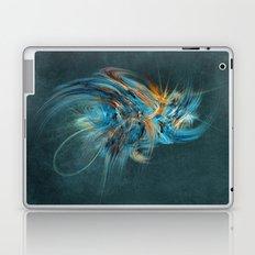 Blue Hornet Fractal Art Laptop & iPad Skin