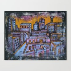 Brooklyn Nocturne 5 Canvas Print