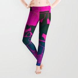 Lingerie Pop Art Leggings