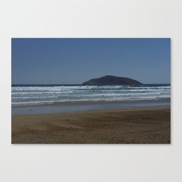 Offshore Island Canvas Print