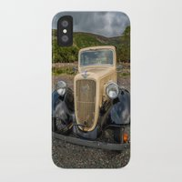 austin iPhone & iPod Cases featuring Austin 7 by Adrian Evans