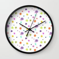 nori Wall Clocks featuring NORI by LAUREN WALKER