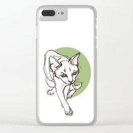Lost in Bali Clear iPhone Case