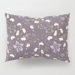 Purple Garden Pillow Sham