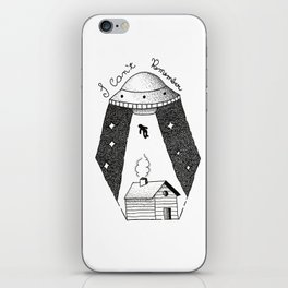 I Can't Remember iPhone Skin