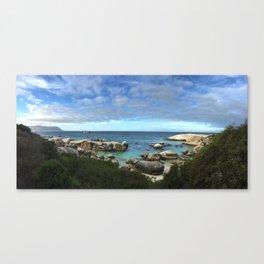 Boulder Beach, South Africa Canvas Print