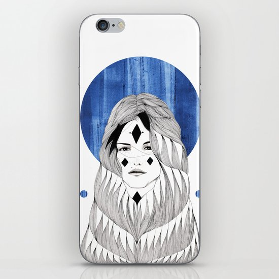 Winter Hymn iPhone & iPod Skin